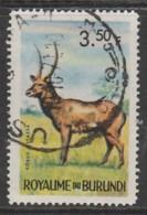 Burundi 1964 Burundi Animals 3.50 Fr Multicoloured SW 96 O Used - Burundi