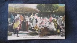 CPA Afrique Maroc Pittoresque - Marché Aux Grains - Marokko
