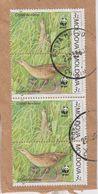 Moldova 2001 WWF 2x2v Used On Paper (40406) - Moldavië