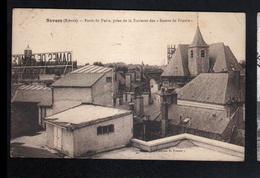"""58, Nevers, Porte De Paris Prise De La Terrasse Des """"Dames De France"""" - Nevers"""