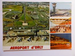 AIRPORT / FLUGHAFEN / AEROPORT    PARIS ORLY  EDITION PI N° 348 - Aerodromes