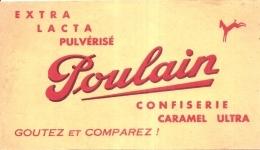 ---- BUVARD ---  Chocolat POULAIN Confiserie TB - Chocolat