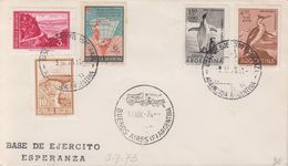 Argentina 1973 Antarctica / Base De Ekercito Esperanza Ca 9 Jul 73 Cover (40409) - Argentinië