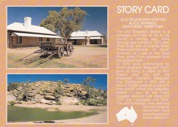 Postcard Old Telegraph Station Alice Springs Northern Territory PU 1991 Interesting Cancel My Ref  B22929 - Alice Springs