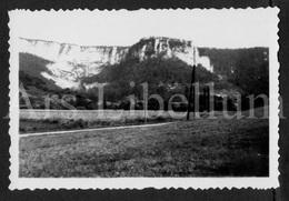 Photo Ancien / Foto / Rochers Sur La Route Des Blanches / 2 Scans / Photo Size: 6 X 8.90 Cm. - Plaatsen