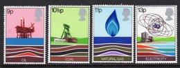 GREAT BRITAIN GB - 1977 ENERGY RESOURCES SET (4V) FINE MNH ** SG1050-1053 - 1952-.... (Elizabeth II)