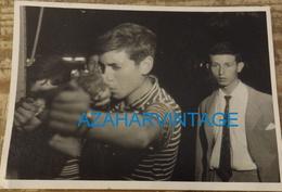 TIR A LA CARABINE PHOTO DE FOIRE FETE FORAINE STAND DE TIR MONTAGE PHOTO SURREALISME, 105X75MM - Personas Anónimos