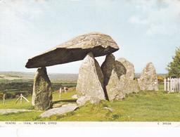 Postcard Pentre Ifan Nevern Dyfed Wales Standing Stone Dolmen Menhir My Ref  B22931 - Dolmen & Menhirs