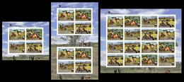GUINEA BISSAU 2008 - WWF Antelope. Complete Imperf. Set - YT 2646-9, Mi 3919-22 - W.W.F.