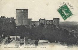 02 - Chateau De Coucy - Vue Prise Au Levant - Francia