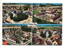 23260-LE-59-EN AVION AU-DESSUS DE ....DOUCHY-------------multivues - France