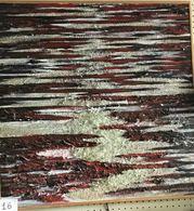 """OPERA DELL'ARTISTA NINO PARLAGRECO """"EVANESCENZA"""" POLIMATERICO ASTRATTO 80X80 DEL 2005 - Acrilici"""