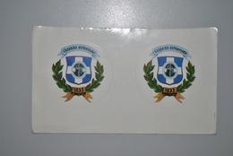 Grèce 1983? Auto-collants Etat Moyen - Autres Collections