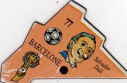 Magnets Magnet Le Gaulois Ville Europe 77 Barcelone - Tourism