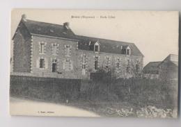 BRÉCÉ (53 - Mayenne) - École Libre - Sonstige Gemeinden