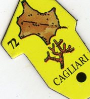 Magnets Magnet Le Gaulois Ville Europe 72 Cagliari - Tourism
