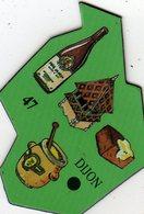 Magnets Magnet Le Gaulois Ville Europe 47 Dijon - Tourisme