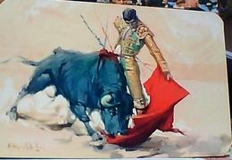 CORRIDA TORO E TORERO Bull Fighter Lorenzo Garza MEXICO ILLUSTRATA N1960  GU3157 - Corrida