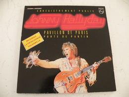 Johnny Hallyday Au Pavillons De Paris - Double Album 1979 (Titres Sur Photos) - Vinyle 33 T - Rock