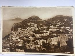 Capri - Panorama 1939 - 199 Vincenzo Carcavallo - Napoli