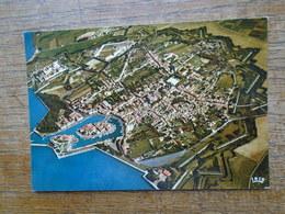 L'île De Ré , Vue Du Ciel , St-martin , Vue Générale De La Ville , Les Fortifications Du Début Du XVIIe Siècle - Ile De Ré