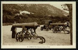 RB 1218 - Early Postcard - Russian Guns In Park Canons - Gibraltar - Gibraltar