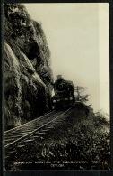 RB 1220 - Real Photo Postcard - Steam Railway Train On Kadugannawa Pass Ceylon - Sri Lanka - Sri Lanka (Ceylon)
