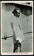 RB 1220 - Real Photo Ethnic Postcard - Typical Singhalese Dress & Comb Ceylon - Sri Lanka - Sri Lanka (Ceylon)