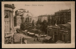 RB 1220 - Early Postcard - Piazza Urmeny Fiume - Rijeka Croatia Italy Interest - Croatia