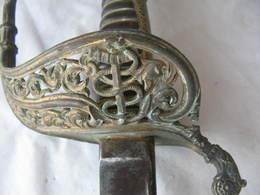 Sabre Officier Marine Model 1837 France,old Sword, Alte Säbel - Knives/Swords