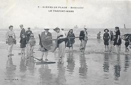 76)  LE TREPORT  - Scene De Plage  Bredouille  ( Pêche à La Crevette ) - Le Treport