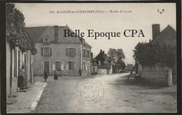 18 - SAINT-LOUP-des-CHAUMES - Route De Levet ++++ E. Maquaire, Bourges, #101 ++++ 1932 ++++ RARE - Other Municipalities