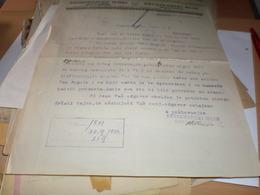 Mill Dragutinovo Novo Milosevo Beora 1933  Mlin - Invoices & Commercial Documents
