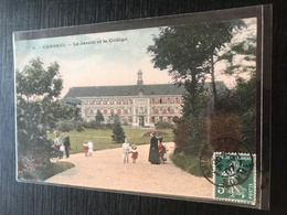59 Cambrai 1907 Jardin College Enfants - Cambrai