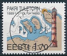 Mi 256 CTO - Pakri Lighthouse - Estonia Estland Estonie Eesti - Estonia