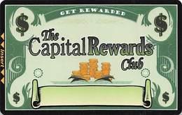Carson Station Casino Slot Card - Carson City, NV - 1 Logo On Reverse - Casino Cards