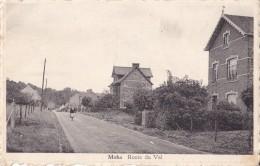 Moha Route Du Val Circulée En 1956 - Huy