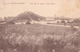 """La Panne-Coxyde Vue Sur Le Camp """" Jean Bart """" Circulée En 1920 - De Panne"""