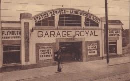 La Panne Garage Royal Boulevard De Dunkerque N° 45 Face à La Digue - De Panne