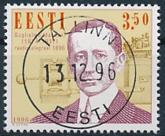 Mi 280 CTO - Radio Centennial Guglielmo Marconi Inventor Electrical Engineer - Estonia Estland Estonie Eesti - Estonia