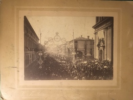Reggio Emilia Processione Festa Madonna Della Ghiara Fine 800 - Antiche (ante 1900)