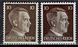 Deutsches Reich - Mi-Nr 787 + 826 Postfrisch / MNH ** (B1285) - Alemania