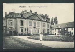ANGLEUR. (Liège)  Château Nagelmackers.  Voyagée En 1913. 2 Scans. - Liege