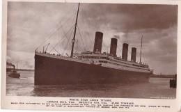 White Star Liner Titanic - Passagiersschepen