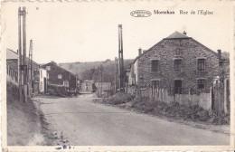 Mortehan Rue De L'Eglise Circulée En 1953 - Bertrix