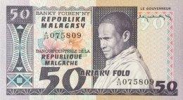 Madagascar 50 Francs, P-62a (ND) - UNC - Madagaskar