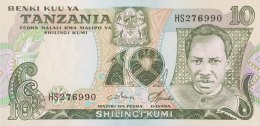 Tanzania 10 Shilingi, P-6c (1978) - UNC - Tanzanie