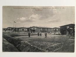 Wk1 Barackenlager Landsturm Infanterie Deutsche Soldaten 1916 - Weltkrieg 1914-18