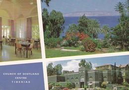 Postcard Church Of Scotland Centre Tiberias Isreal By Palphot My Ref  B22937 - Israel