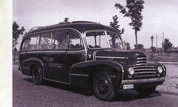 Autobus Citroen Louis Maes  De 1948  -  Voyages Jolimontois  -  15x10 PHOTO - Autobus & Pullman